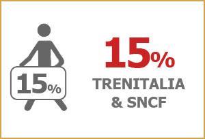 Minoan Lines  Trenitalia and SNCF Members Discount- 15%