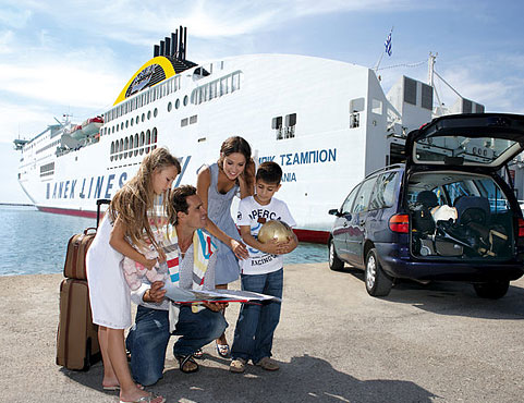 Anek Lines 2013 – 20% Discount for Friends – Families travelling in ATS or Deck