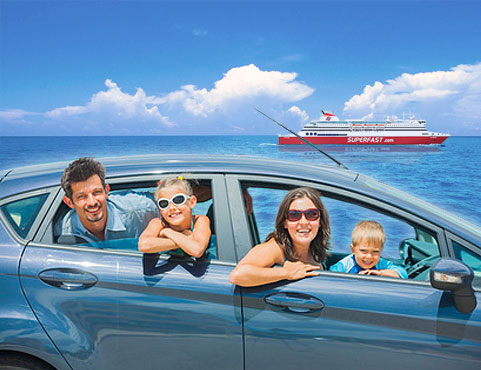 Superfast Ferries – Automobile Club Discount 2013