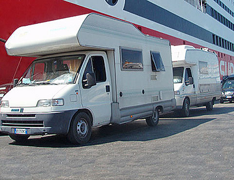 Superfast Ferries – Camping on Board 2013